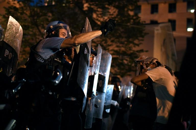Trump vows no 'Autonomous Zone' in DC, after protesters cleared