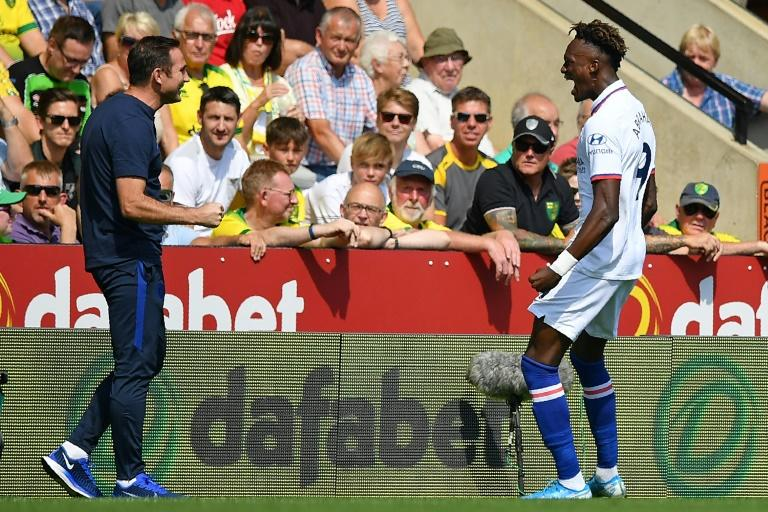 Image result for Abraham's strike gives Chelsea first win of season
