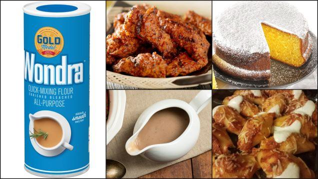The wonders of Wondra, the instant mixing flour