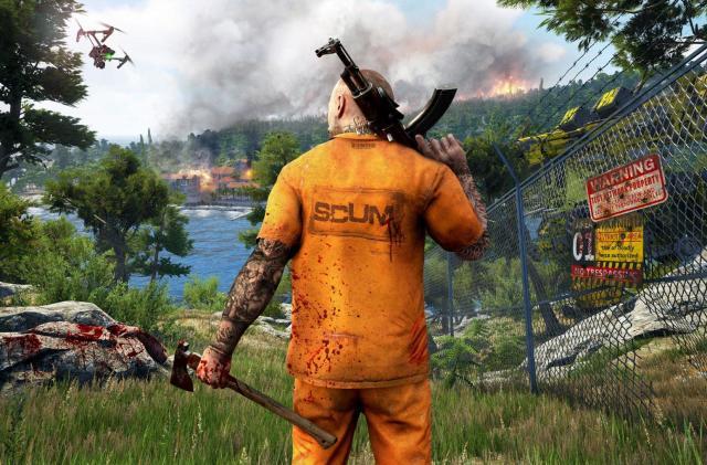 Prison survival game 'Scum' no longer includes neo-Nazi tattoos