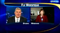 Flu becomes widespread in New Hampshire