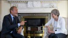 Britischer Außenminister: Tusk hat britisches Volk beleidigt