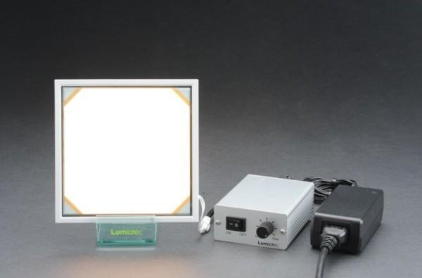 Lumiotec's OLED lighting panel gets video reviewed, throws down versus a bright group of competitors