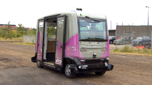 1st public trial of a driverless shuttle wraps up in Calgary