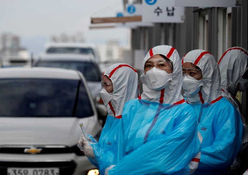 South Korea reports 76 new coronavirus cases, total 9037