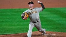 Myers homers, busy Padres blank Rockies 6-0