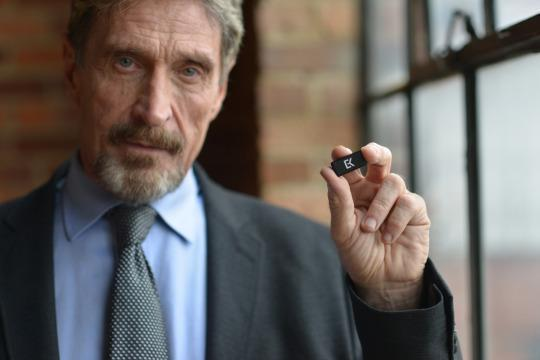 John McAfee is just as nutty as the software he releases. He&#8217;s clearly done way too many drugs. <strong>Amirite?</strong>