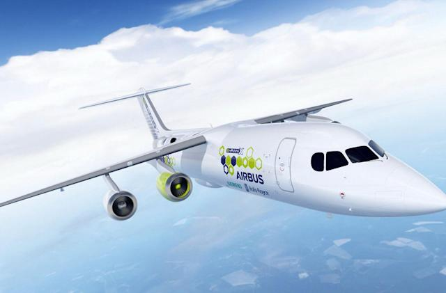 Airbus, Rolls-Royce and Siemens team on a hybrid electric aircraft