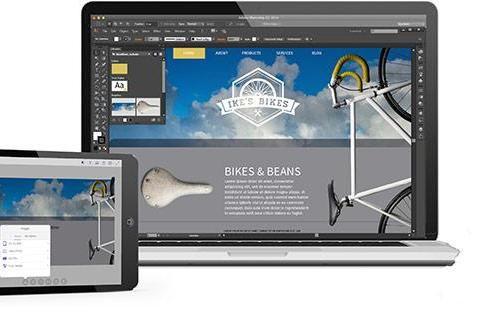 Use an iPad to start print, web and mobile layouts with Adobe Comp CC