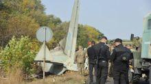 Nur ein Überlebender nach Absturz von ukrainischem Militärflugzeug