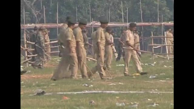 India bombers 'wanted stampede'