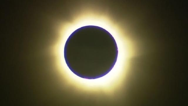 Solar eclipse seen from Australia