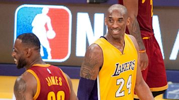 Kobe's pick for G.O.A.T.? 'I really don't care'