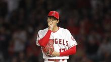 Shohei Ohtani exits start in 2nd inning after developing blister on pitching hand