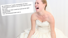 Bride's worst nightmare as she loses wedding dress weeks before big day