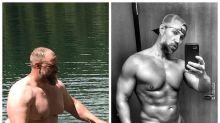 Pai perde 127 quilos pelos filhos