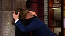 Sally Field One-Ups Helen Mirren With Passionate Kiss for Colbert