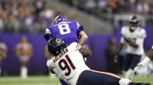Bears NT Eddie Goldman said being away from football 'really took a toll on me'