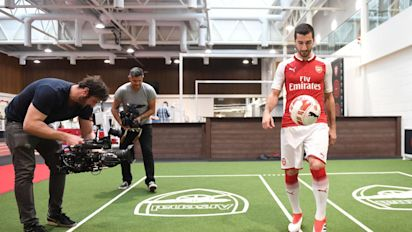 Henrikh Mkhitaryan: 'I always dreamed of playing for Arsenal'