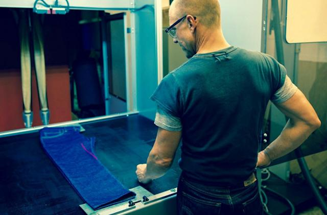 Levi's uses lasers to give your jeans an eco-friendly finish
