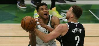 Bucks into playoffs as Giannis outguns Nets duo