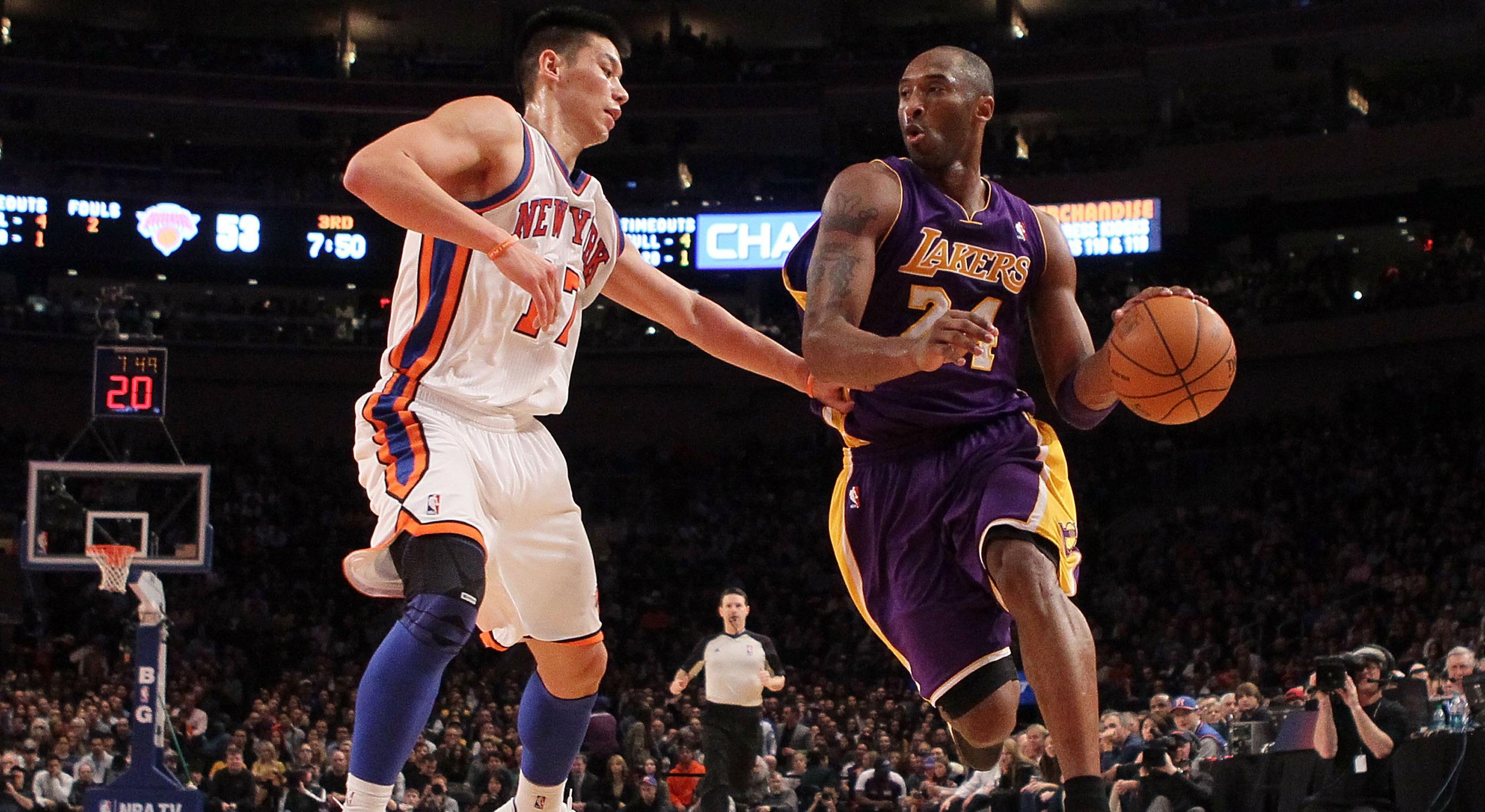 Jeremy Lin Reflects On The Time He Was Disrespected By Kobe
