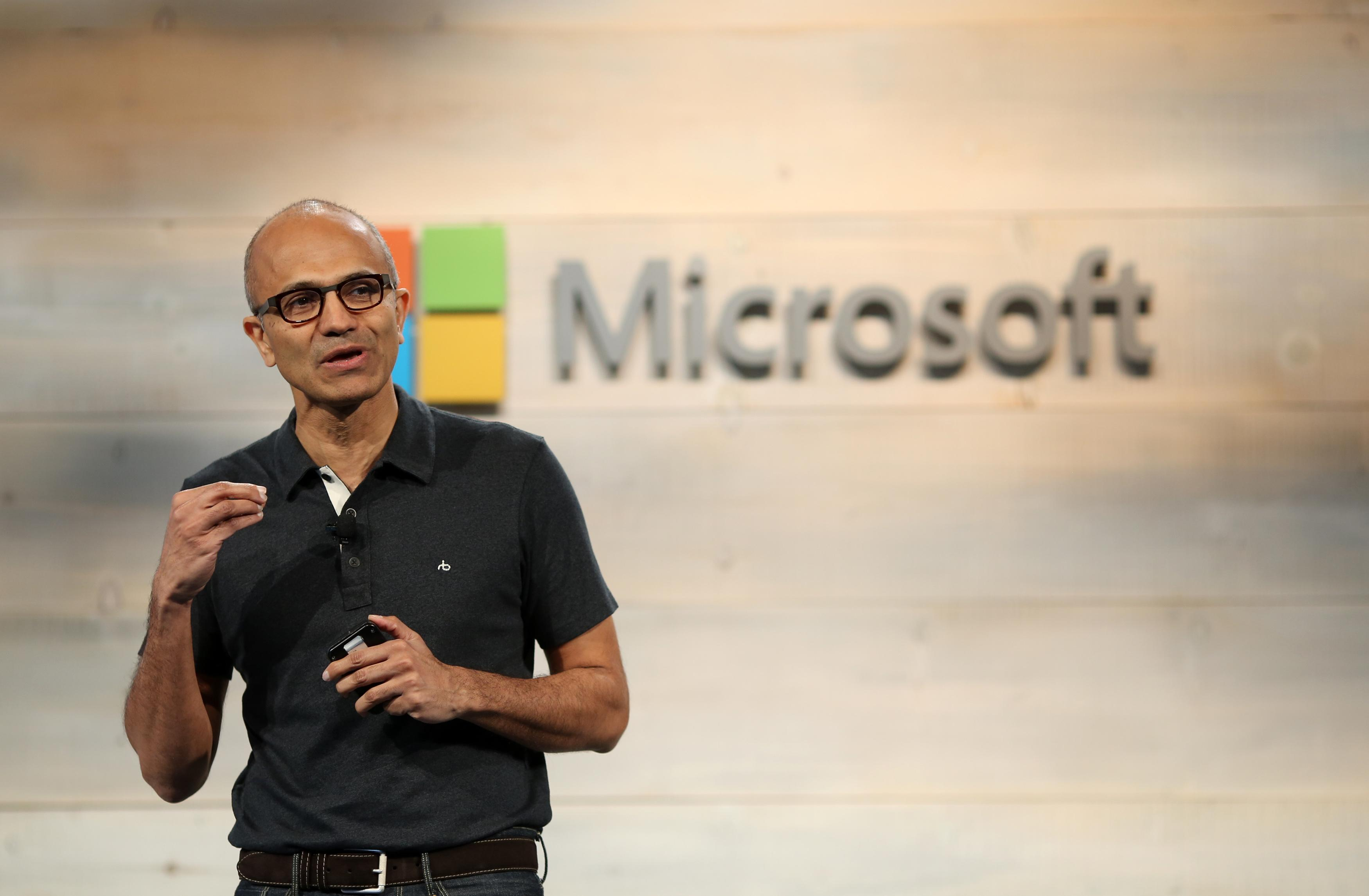 Microsoft CEO Satya Nadella: Winning the JEDI cloud contract should cause a 'halo effect'