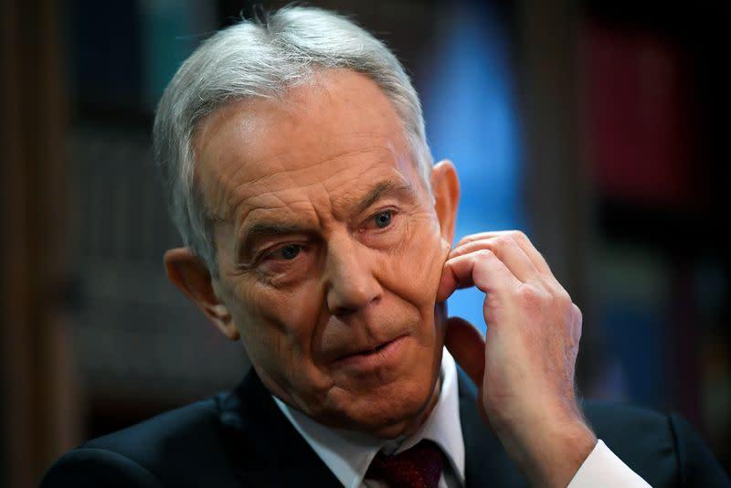 Former UK PM Blair accused of breaking quarantine rules after U.S. trip: Sunday Telegraph