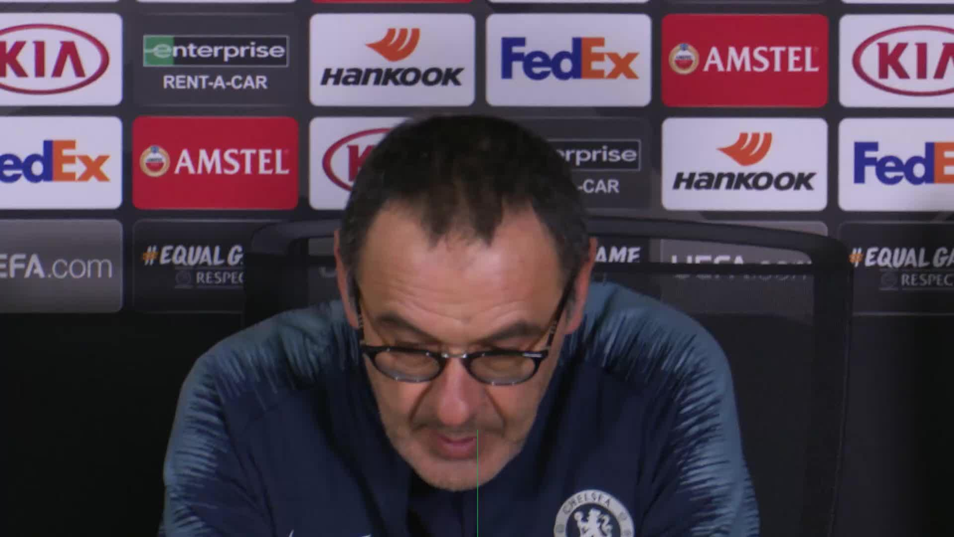 It will be a 'disaster' if we perform the same against City - Sarri