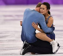 U.S. Ice Dancing Team Breaks Down After 'Heartbreaking' Mistake