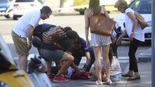 Videos posted on social media reveal carnage from Barcelona van attack