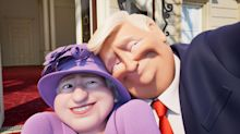 Donald Trump takes a selfie with the Queen in new clip from 'The Queen's Corgi'