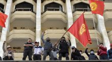 Kyrgyzstan's president says he's quitting to avoid bloodshed