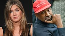 Jennifer Aniston endorses Joe Biden, says 'it's not funny to vote for Kanye'