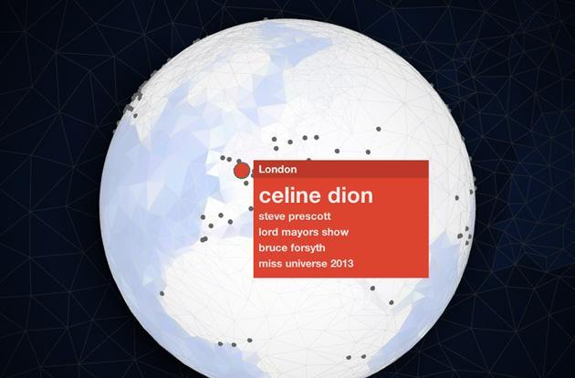 Google's 2013 Zeitgeist includes Mandela, iPhones and a 3D trend map (video)