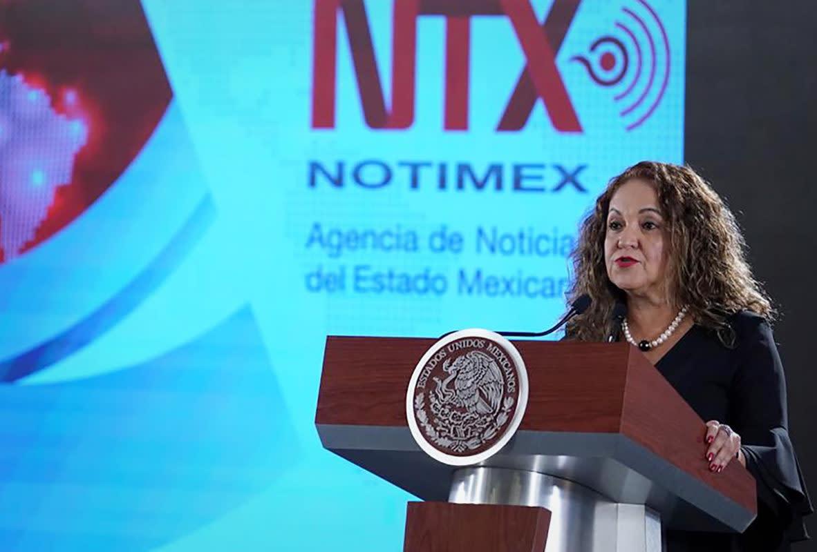 Acusa EU a Sanjuana Martínez, directora de Notimex, de ataques a periodistas y medios