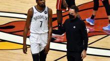 Basket - NBA - Examens médicaux pour Kevin Durant (Brooklyn Nets), touché à une cuisse contre Miami