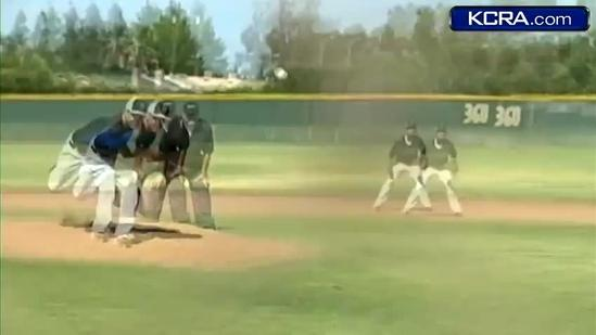 Valley High baseball team hoists car off pinned student