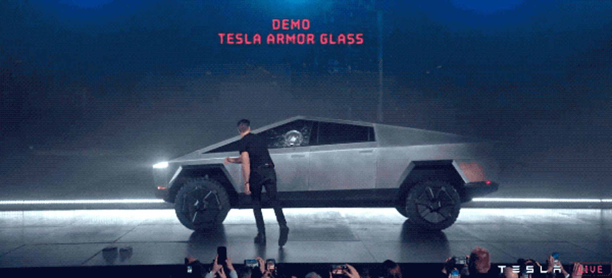 Elon Musk Unveils New Futuristic Tesla Cybertruck — and ...