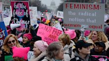 PHOTOS: Protesters take part in third annual Women's March