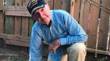 97-year-old WWII vet goes viral after 'taking a knee' to support NFL players