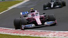 F1: Stroll lidera treino marcado por batida de Albon na Inglaterra
