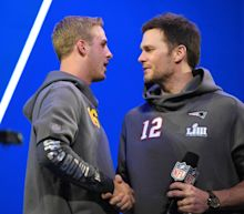 Tom Brady appeared to snub Jared Goff during postgame handshakes and Twitter took notice