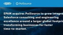 EPAM Expands Salesforce Capabilities with Acquisition of PolSource