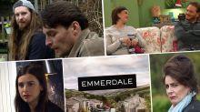 Next week on 'Emmerdale': Meena commits murder but who dies? Plus David kisses Victoria (spoilers)