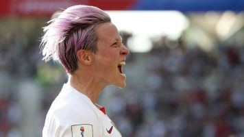 Megan Rapinoe's winner was never in doubt