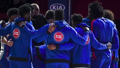 Pistons putting on a masterclass in tanking