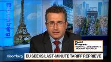 Generali Says Merkel Can `Push Back' Against U.S. With China Trade