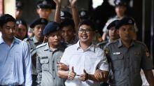 UN chief urges Myanmar to pardon Reuters reporters