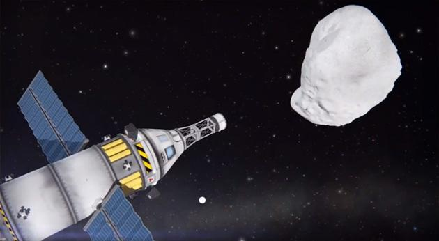 NASA's game collaboration lets you steer asteroids without leaving home